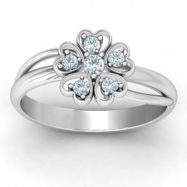 With Love and Flowers Ring