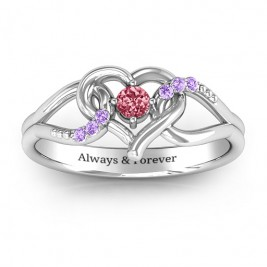 You Have My Heart Ring with Accents