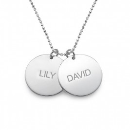 Personalised Multi Disc Necklace