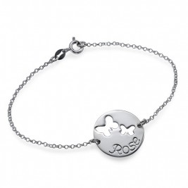 Cut Out Butterfly Bracelet/Anklet