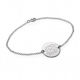 Sterling Silver Monogram Bracelet/Anklet