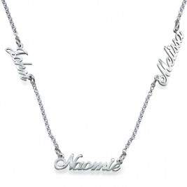 Personalised Jewellery for Mums - Multiple Name Necklace