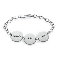 Special Gift for Mum - Disc Name Bracelet/Anklet