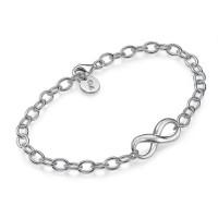 Sterling Silver Infinity Bracelet/Anklet