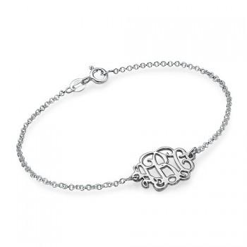 Sterling Silver Initials Bracelet/Anklet
