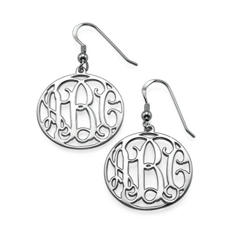 Sterling Silver Monogrammed Earrings Jumbo 800x800 0 Jpg