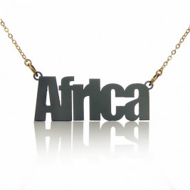 Acrylic Name Necklace Swis721 BIKCn BT Font Necklace