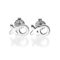 XO Silver Earrings