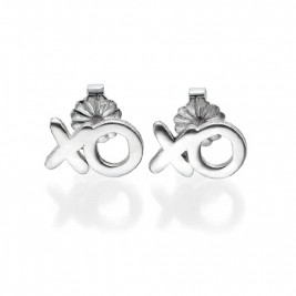 XO Silver Earrings