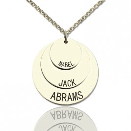 Jewellery For Moms - Three Disc Necklace
