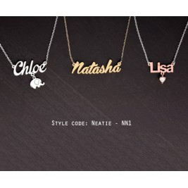 Up To 70% Off - Personalized Name Necklace - Personalized Name Plate Jewelry - Discount Selection