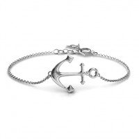 Personalised Anchor Bracelet