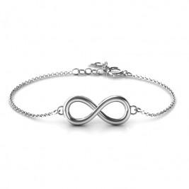 Personalised Classic Infinity Bracelet
