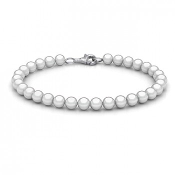 Personalised Freshwater Pearl Bracelet with Silver Clasp