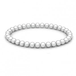 Personalised Freshwater Pearl Stretch Bracelet