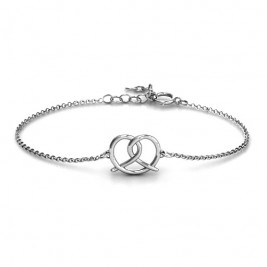 Personalised Love Knot Bracelet