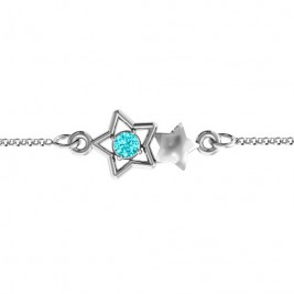Personalised Me and My Shadow Star Bracelet