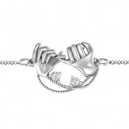 Personalised Pinky Swear Promise Bracelet