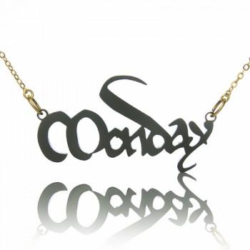 Magna Carta Style Acrylic Name Necklace