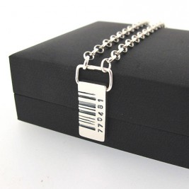 Barcode Tag Pendant