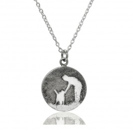 Personalised Walk With Me Dog Necklace