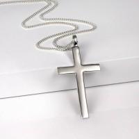 Big Solid Silver Cross
