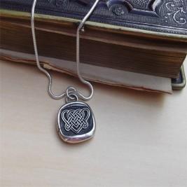 Celtic Love Knot Necklace