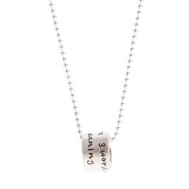 Eight Letters One To Rule Mens Chain