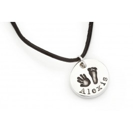 Mens First Impressions Personalised Coin Chain