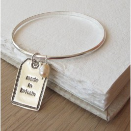 Personalised Silver Designer Label