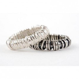 Medium Sterling Silver Ring