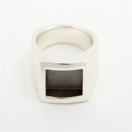 Men Gentlemen Ring Black