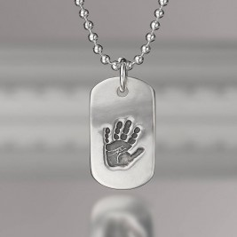 Personalised Print Dog Tag