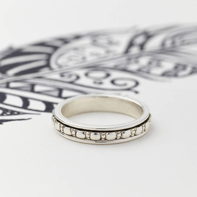 Mens Spinner Wedding Rings