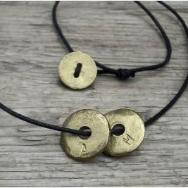 Personalised Eternal Hoop Necklace