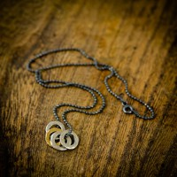Mens Family Eternity Necklace