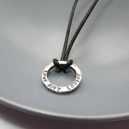 Mini Personalised Dad Necklace