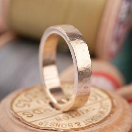 Organic Textured 18ct Gold Ring