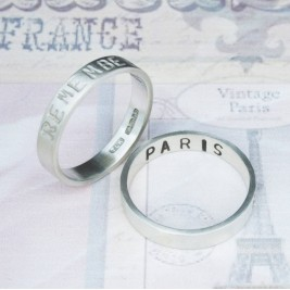 Personalised Remember… Your Story Ring