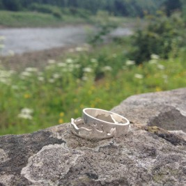 Personalised River Ring