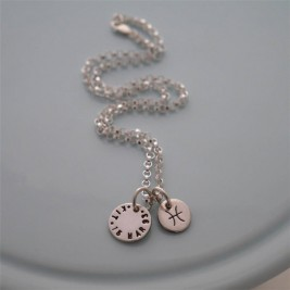 Personalised Silver Zodiac Necklace
