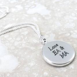 Personalised Globe Travel Necklace