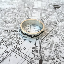 River Thames Cutout Ring
