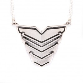 Romeo Necklace Oxydised Silver