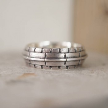 Roof Silver Ring