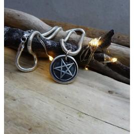 Silver Pentacle Pendant