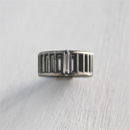Sterling Silver Inclusions Ring