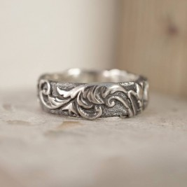 Victorian Scroll Ring