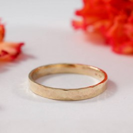 Wedding Bands In 18ct Yellow Gold