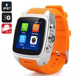 iMacwear SPARTA M7 Watch Phone (Silver)